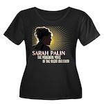 Sarah Palin Powerful Voice Women's Plus Size Scoop