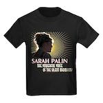 Sarah Palin Powerful Voice Kids Dark T-Shirt