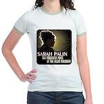 Sarah Palin Powerful Voice Jr. Ringer T-Shirt