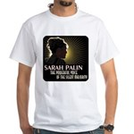 Sarah Palin Powerful Voice White T-Shirt