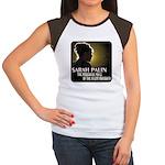Sarah Palin Powerful Voice Women's Cap Sleeve T-Sh