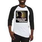 Sarah Palin Powerful Voice Baseball Jersey
