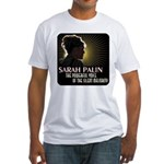 Sarah Palin Powerful Voice Fitted T-Shirt