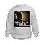 Sarah Palin Powerful Voice Kids Sweatshirt