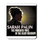 Sarah Palin Powerful Voice Mousepad