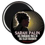 Sarah Palin Powerful Voice Magnet