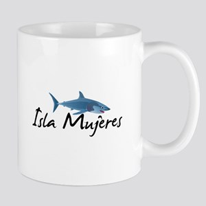 Isla Mujeres Shark Mugs