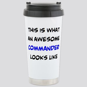 awesome commander 16 oz Stainless Steel Travel Mug