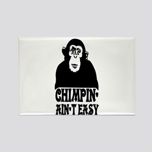 """Chimpin Ain't Easy: Pimpin Aint Easy"" Rectangle M"