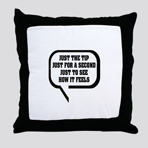 """Awkward Proposition"" Throw Pillow"