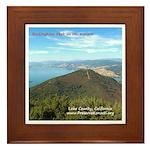 Framed Tile - Buckingham Peak