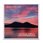 Tile Coaster - Konocti Sunset