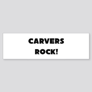Carvers ROCK Bumper Sticker