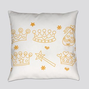 i am the queen Everyday Pillow