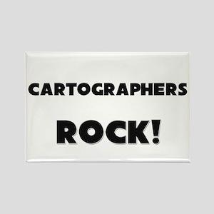 Cartographers ROCK Rectangle Magnet