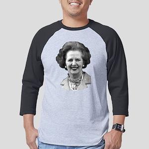 Margaret Thatcher Mens Baseball Tee
