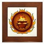 Lunus Drulkar Symbol Framed Tile