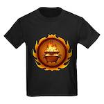 Lunus Drulkar Symbol Kids Dark T-Shirt