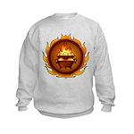 Lunus Drulkar Symbol Kids Sweatshirt