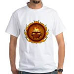 Lunus Drulkar Symbol White T-Shirt