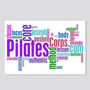 Pilates Corps Postcards (Package of 8)
