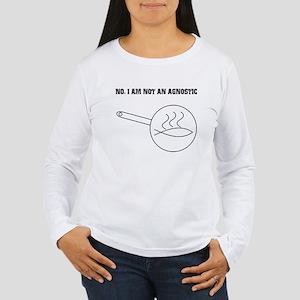 Ateeist Women's Long Sleeve T-Shirt