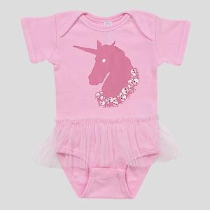 zombie-unicorn_pk Baby Tutu Bodysuit