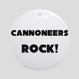 Cannoneers ROCK Ornament (Round)