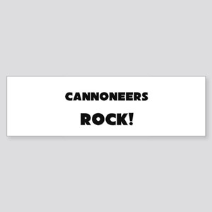 Cannoneers ROCK Bumper Sticker