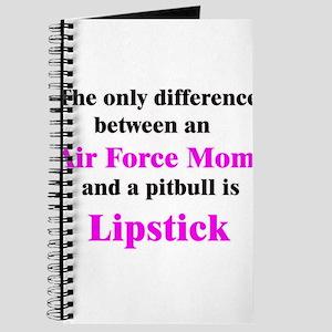 Air Force Mom Pitbull Lipstick Journal