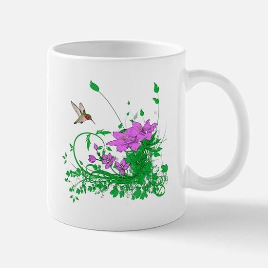 Hummingbird Garden Mug