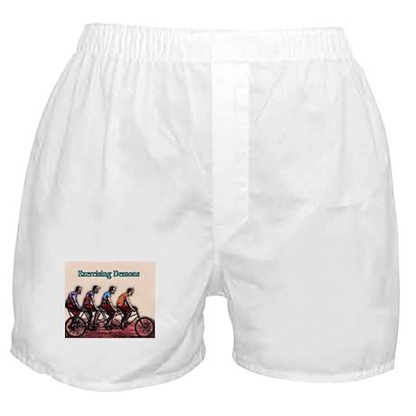 Exercising Demons Boxer Shorts