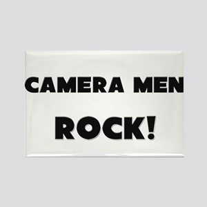 Camera Technicians ROCK Rectangle Magnet