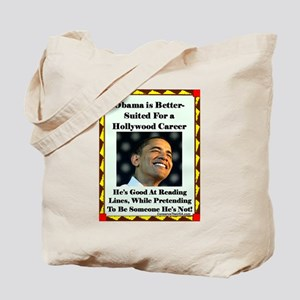 """""""Obama the Actor"""" Tote Bag"""
