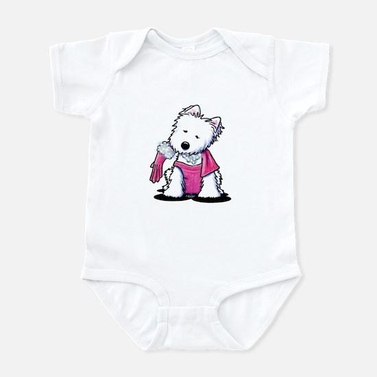 Material Girl Westie Infant Bodysuit