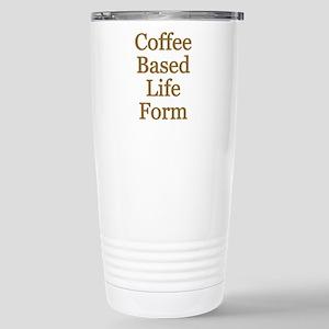 Coffee Based Life Form Stainless Steel Travel Mug