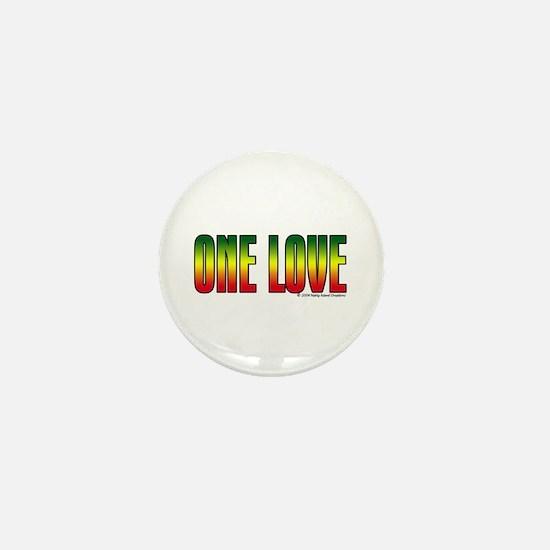 One Love Mini Button