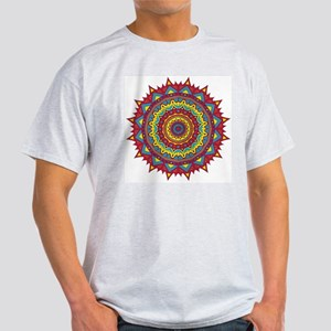 PRIMAL RED MAGIC CIRCLE Ash Grey T-Shirt