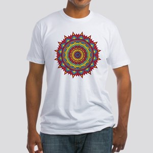 PRIMAL RED MAGIC CIRCLE Fitted T-Shirt