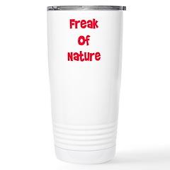 Freak Of Nature Stainless Steel Travel Mug