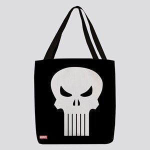 Punisher Skull Shower Curtain Polyester Tote Bag