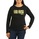 EnDo: Women's Long Sleeve Dark T-Shirt