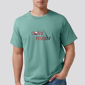 Gone fishing bobber and fishing pole T-Shirt