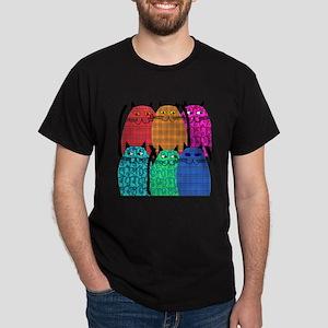 cat Shower Curtain 3 T-Shirt