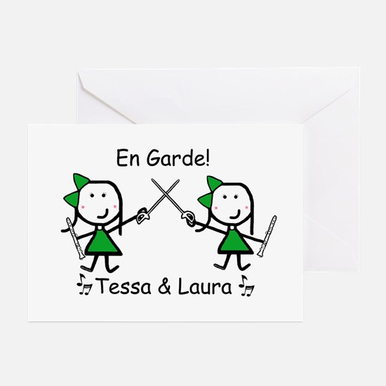 Sabre - Tessa & Laura Greeting Cards (Pk of 20)