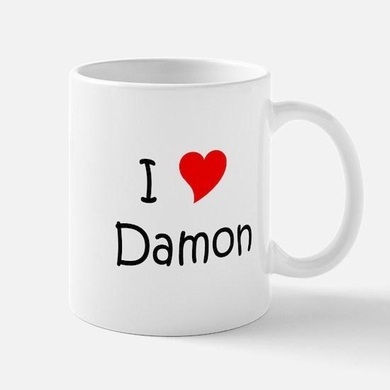 Cute I heart damon Mug