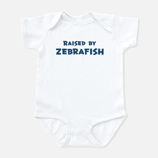 Raised by Zebrafish Infant Bodysuit