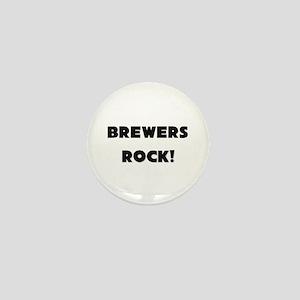 Brewers ROCK Mini Button