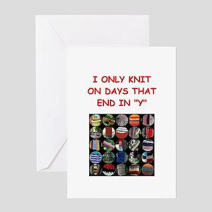 knitting Greeting Card