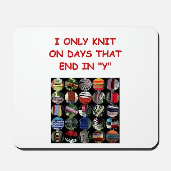 knitting Mousepad